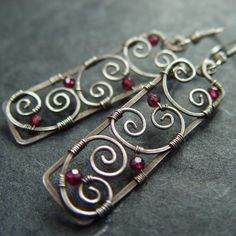 metal wire work on jewellry - Google Search