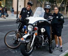 San Jose Police San Jose Police On Bikes Are Happy Police Just Look At That Smile Harleydavidsonroadking Harley Davidson Harley Police