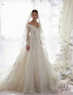 Wonderful Perfect Wedding Dress For The Bride Ideas. Ineffable Perfect Wedding Dress For The Bride Ideas. Lace Wedding Dress With Sleeves, Long Sleeve Wedding, Lace Sleeves, Dresses With Sleeves, Dress Lace, Strapless Dress, Gown Dress, Short Sleeves, 2015 Wedding Dresses