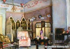 Olga and Tatiana's bedroom