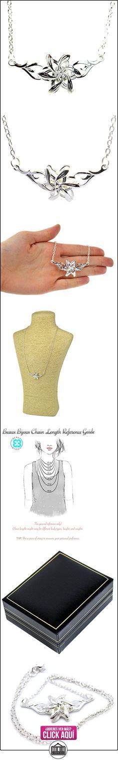 Elfos Reina Galadriel flor de plata collar con colgante de el Señor de los anillos el hobbit LOTR inspirado en caja de regalo  ✿ Joyas para mujer - Las mejores ofertas ✿ ▬► Ver oferta: https://comprar.io/goto/B01432KLCC