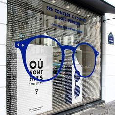 "COLETTE,Paris,France, ""Où sont mes lunettes?"", (Where are my glasses?),, pinned by Ton van der Veer"