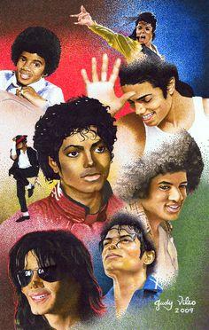 Michael Jackson collage of art Michael Jackson Drawings, Michael Jackson Wallpaper, Michael Jackson Art, Michael Art, Michael Jordan, Jackson Family, Janet Jackson, Jackson's Art, The Jacksons