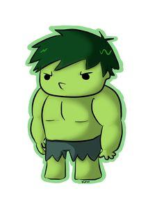 Hulk by ~ksnkun