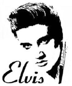 ELVIS STENCILS Free Elvis Stencil Elvis Presley Cake Stencils