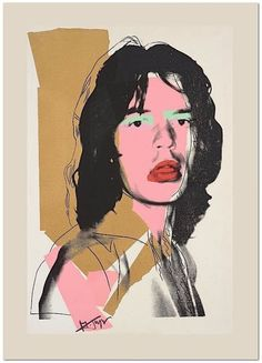 ANDY WARHOL - 'Mick Jagger' - hand numbered vintage print - - rare (Limited edition of Atelier Jobim, Paris) Eagle Art, Exhibition Poster, Hirst, Mick Jagger, Andy Warhol, Limited Edition Prints, Vintage Prints, Etsy Vintage, Giclee Print