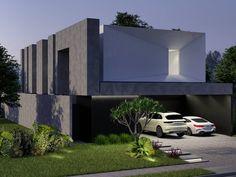 Home Arquitetura . . . . .  Residência Unifamiliar  Área do Lote: 375m2 Área Construída: 290m2  Projeto: @alexsandro.arq 3D: @alexsandro.arq Flat Screen, 3d, Home, Arquitetura, Interiors, Blood Plasma, Ad Home, Flatscreen, Homes