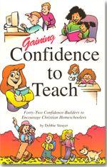 Gaining Confidence to Teach