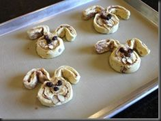 "Bunny Shaped Cinnamon Rolls  What do you get when you unroll a tube of Pillsbury Cinnabon® cinnamon rolls and shape them like bunnies? ""Cinnabunnies!"