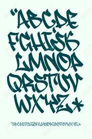 Graffiti font - Hand written - alphabet vector image on VectorStock Graffiti Text, Texto Graffiti, Wie Zeichnet Man Graffiti, Graffiti Writing, Graffiti Tagging, Street Art Graffiti, Graffiti Artists, Graffiti Designs, Graffiti Alphabet Styles