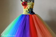 The Ultimate Rainbow Tutu Dress for Girls by EsthersCollection, $49.99