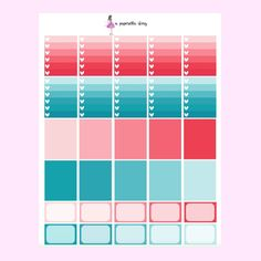 Princess June Deluxe Kit // Printable Planner Stickers – A Paperella Story