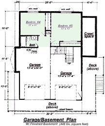 House Plans With Basements ranch walkout basement floor plans gallery gyleshomescom Chalet Finished Basement Floor Plan Image Click To See A Larger Image