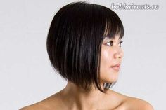 15 Best Bob Cut Hairstyles for Round Faces - 5 #BobHaircuts