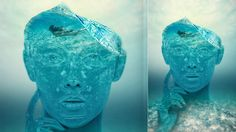 Surreal Underwater ~ Photoshop Portrait Effect || #photomanipulation #doubleexposure #surreal #surrealism #nature #conceptart #conceptualart #water #photoshop #photoshopeffect