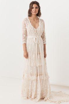 Chloe Duster – Spell - Australia Bohemian Bride, Bohemian Wedding Dresses, Wedding Dresses Plus Size, Boho Dress, Lace Dress, White Dress, Hippie Weddings, Indian Weddings, Bridal Gowns