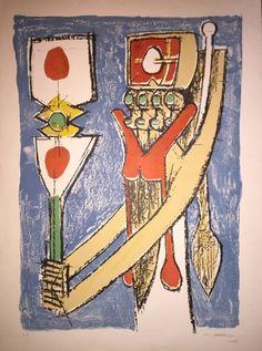 """Totem"" 1955. Roberto Matta"