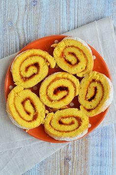 A tökéletes piskótatekercs Onion Rings, Cake, Ethnic Recipes, Sweet, Food, Candy, Kuchen, Essen, Meals