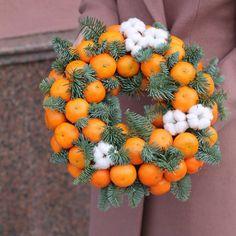 ❄️🍊❄️🍊❄️🍊#мандариновыйвенок #vkusniebuketi #рождественскоенастроение