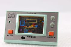 "80s Retro Masuday LCD Game Watch ""Play & Time"" Kitchen MIJ Good Condition #Masudaya"