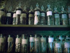An Apothecary Spice Rack for Cooking #Anthropologie #PinToWin