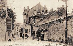 rue du Mont-Cenis - Paris 18e Montmartre - la rue du Mont-Cenis - La Maison de Berlioz (ancienne carte postale - vers 1900)