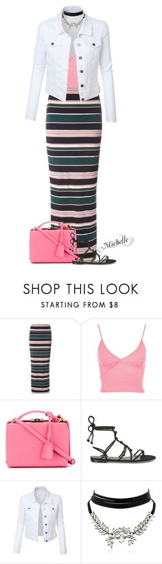 """""""A Little Grace"""" by michellesherrill ❤ liked on Polyvore featuring Dorothy Perkins, Topshop, Mark Cross, Temperley London, LE3NO and WithChic"""