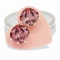 JoJo Loves You: Antique Pink Cushion Cut Bling