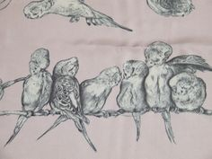 Budgie scarf by hermes