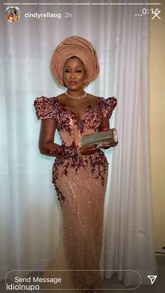 Nigerian Lace Styles Dress, African Lace Dresses, African Dresses For Women, African Wear, African Attire, African Style, Aso Ebi Styles, Ankara Styles, Lace Gowns