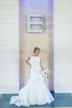 Bride in Mermaid gown from Lily's Bridal-B Resort and Spa Wedding Inspiration - Photo: Leah Langley Photography-Orange Blossom Bride-Orlando Wedding Blog