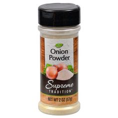 Shop Great Deals on: Supreme Tradition Onion Powder, 2 oz. Spice Logo, Spice Labels, Healthy Groceries, Fruit Cups, Snack Recipes, Snacks, Living On A Budget, New Flavour, Drying Herbs