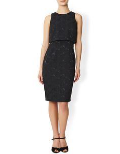 Immy Jacquard Dress