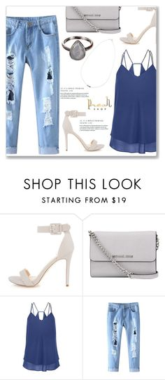 """Presh Shop 1/I"" by amra-mak ❤ liked on Polyvore featuring MICHAEL Michael Kors and presshop"
