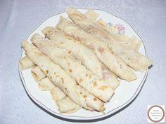 Clatite pufoase cu dulceata de casa Fresh Rolls, Ethnic Recipes, Food, Fine Dining, Salads, Essen, Yemek, Meals