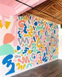 Projects — Will Bryant Wall Painting Decor, Mural Wall Art, Aesthetic Room Decor, Art Inspo, Street Art, Street Mural, Art Projects, Backdrops, Decoration