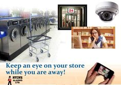 Keep an eye on your store while you are away! Keep An Eye On, Washing Machine, Home Appliances, Store, House Appliances, Tent, Shop Local, Appliances, Larger