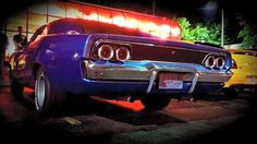 #purple 1968 #Dodge #charger #musclecar #DatAss #LetsGetWordy