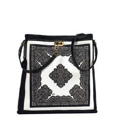 Etro borsa foulard a tracolla in pelle