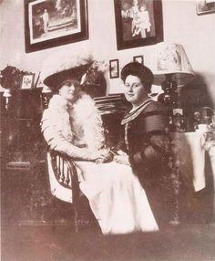 The Tsaritsa Alexandra with her best friend Ana Virubova