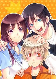 noragami yato hiyori yukine family - Buscar con Google