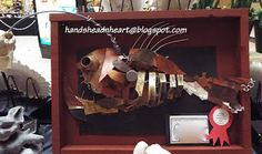 Hands, Head 'n Heart in the Artroom: Mixed Media fish