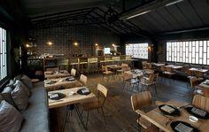 Architecture et design atypiques pour le nouveau restaurant Romita
