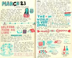 One day, I want to do this.  It will make my journal far more readable.