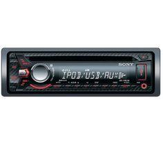 L'autoradio CDX-G2001UI di Sony legge la tua musica dai CD o attraverso una porta USB. Compatibile con gli MP3, questo apparecchio offre un suono armonioso grazie alla sua potenza 4 x 55 W e alla sua amplificazione Dynamic Reality.