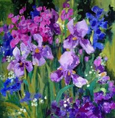Original Fine Art By © Libby Anderson in the DailyPaintworks.com Fine Art Gallery
