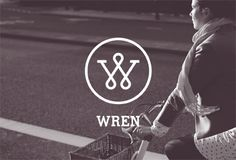 Beautiful and unique, Wren bicycles combine traditional cycling sophistication with contemporary British design. Jewelry Logo, Source Of Inspiration, Wren, Mtb, Bicycles, Identity, Fonts, Logo Design, Monogram