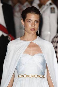 Charlotte Casiraghi....looks a little like Angelina Jolie