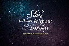 """Résultat de recherche d'images pour """"stars can't shine without darkness tattoo"""""""