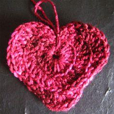 Aprendiendo a tejer: CROCHET - Corazón